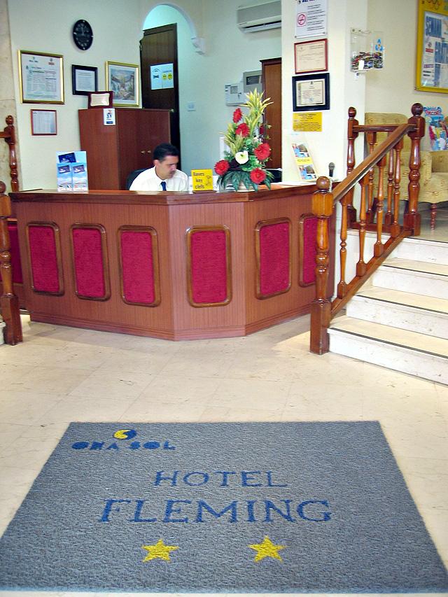Отель fleming бенидорм